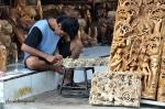 Balinese wood carver