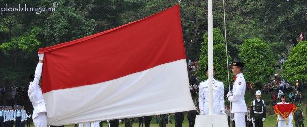 the flag raising