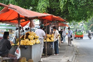 Nangka street vendors