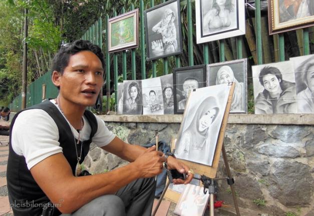 bogor street painter andrey