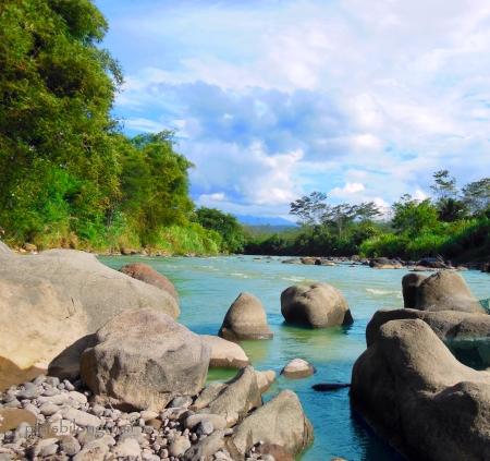 cikaniki river-Cigudeg West Java, Indonesia.